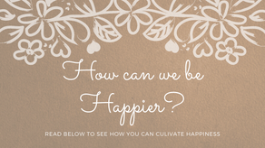 How can we be happier?