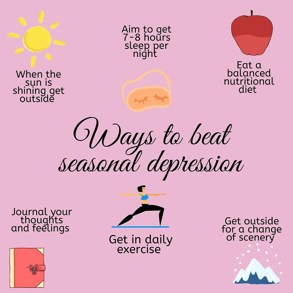 Ways to beat seasonal depression