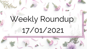 Weekly Roundup 17/01/2021