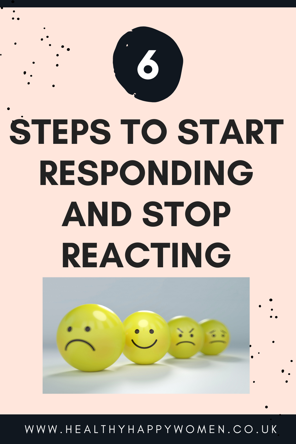 How to respond and stop reacting
