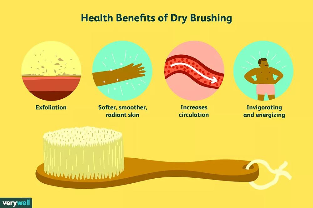 Dry body brushing benefits