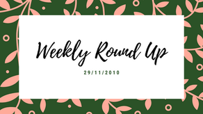 Weekly Round Up 28/11/2020
