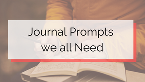 Journaling Prompts we all Need