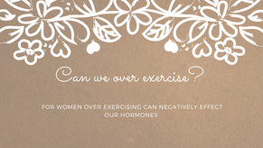 Can we over exercise?