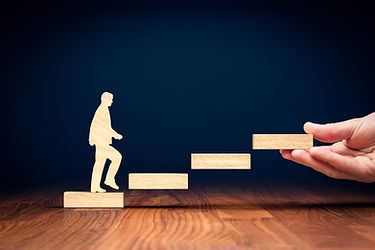 Coach motivate to personal development,