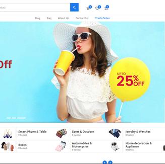 Tienda Online modelo 1 Ejemplo