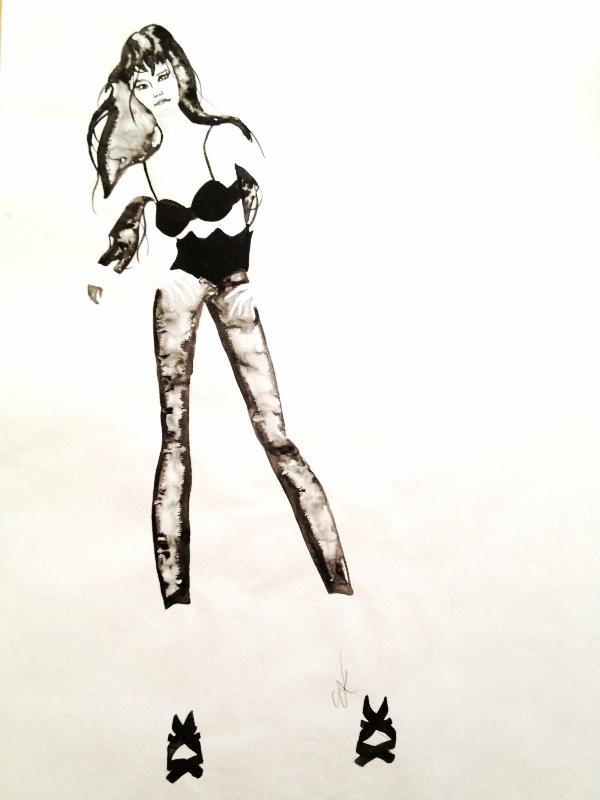 Ink, blotting paper