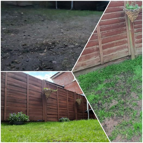 Lawn & Fence Restoration