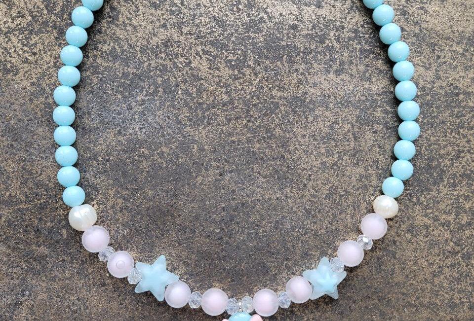 Baby Mermaïd necklace