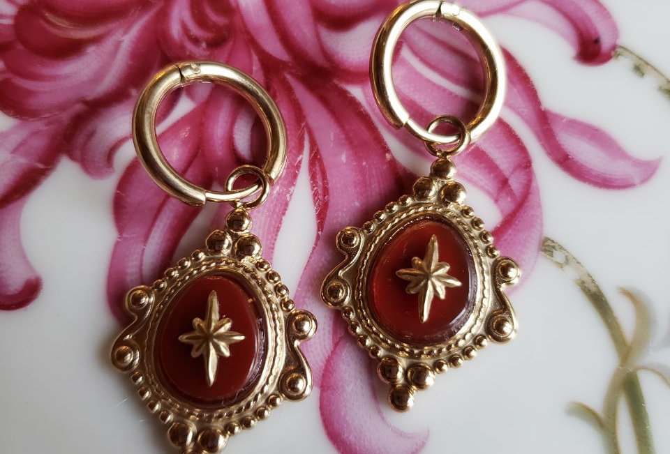Bloody Dïamond Earrings