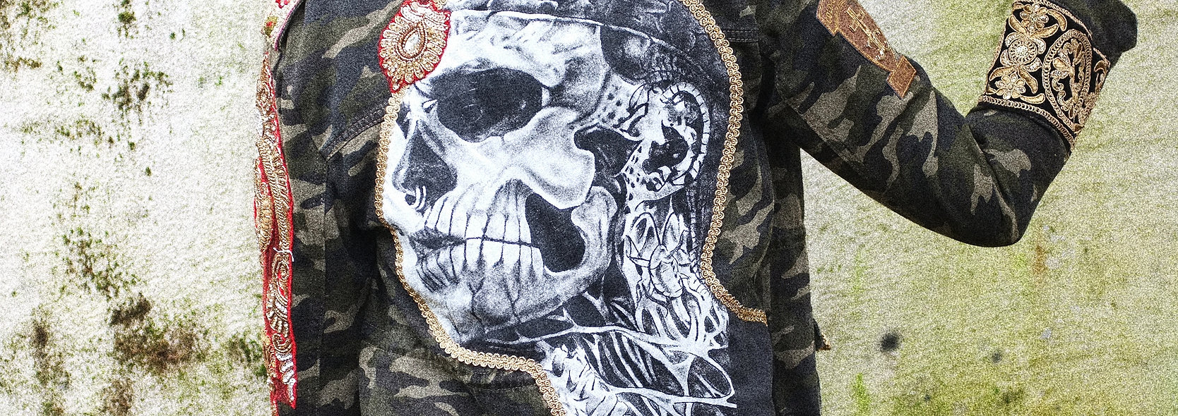 Zombie Boy Forever Army Jacket L