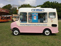 Carnival ices Vintage Ice Cream Van Hire
