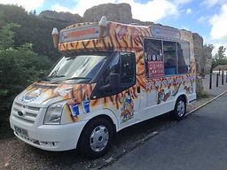 tiger ice cream van