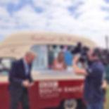 1960s ice cream van for hire