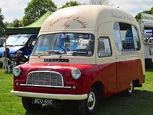 Vintage Ice Cream Van for Hire, Bedford