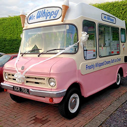 1970s Mr Whippy Ice Cream Van for hire