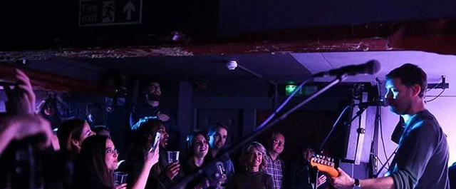 Front row fans at our sell-out Debut Gig