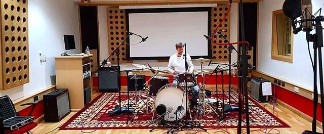 Broken Hands drum session!! #deartenemen