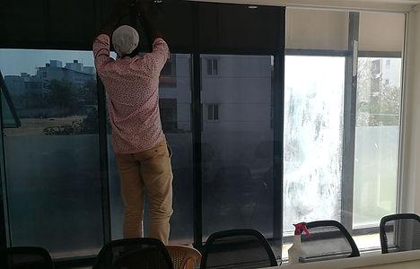 Película inteligente para ventanas