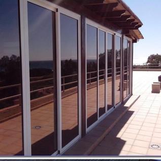 Polarizado espejo para ventanas de casa