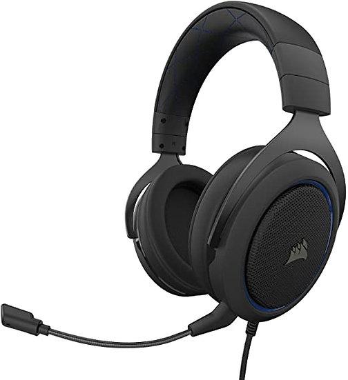 CORSAIR HS50 PRO STEREO Gaming Headset — BLUE (AP)