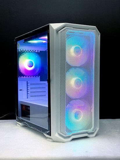 INVASION H1 MATX - WHITE ( Free 4 RGB Fans )