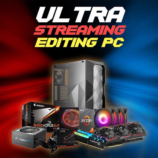 ULTRA STREAMING / EDITING PC