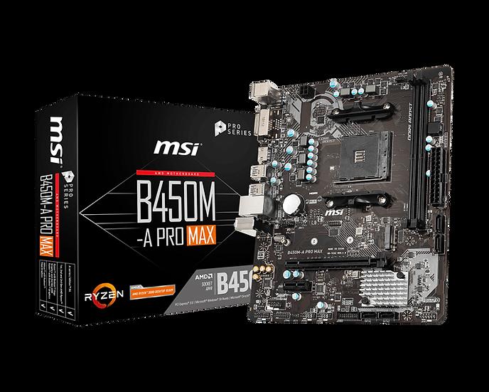 AMD B450M -A PRO MAX