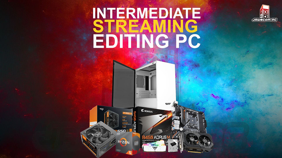 INTERMEDIATE STREAMING / EDITING PC