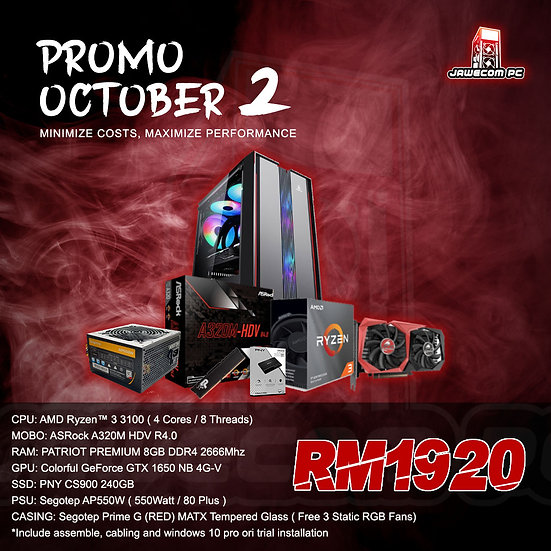 PROMO OCTOBER 2