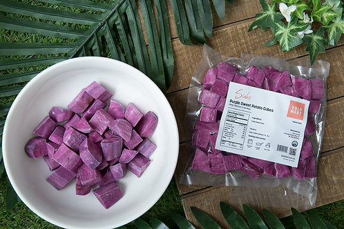 Raw Purple Sweet Potato