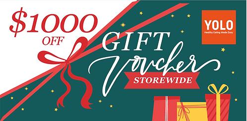 S$1,000 Gift Voucher