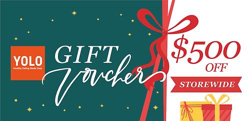 S$500 Gift Voucher