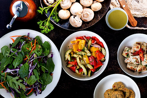 High Protein Vegan Salad Box