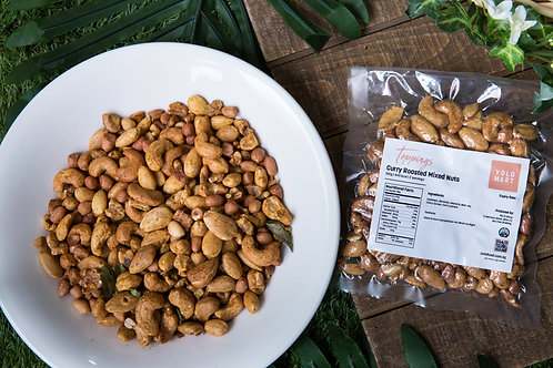 Curry Roasted Mixed Nuts