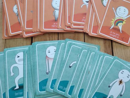 Les cartes émotions pour aider ton enfant.