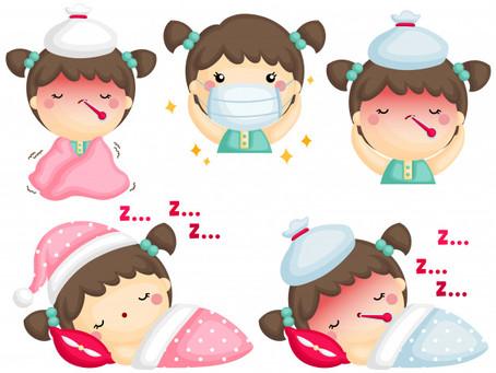 Les 4 bons réflexes à avoir lorsque ton enfant est malade