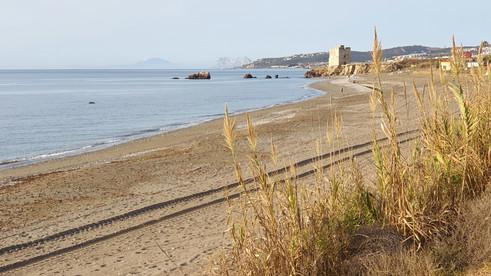 Casares playa front of Casitamar