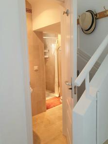 Casitamar downstairs shower room