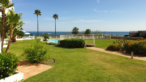 Sea and pool view from Casitamar