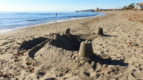 Casares costa our nearest beach