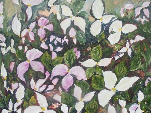 Original - Ontario Trilliums No. 4