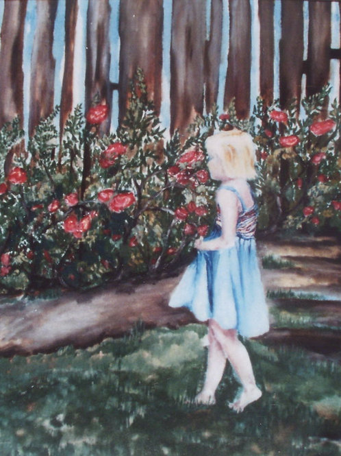 Rose Garden - SOLD - prints only