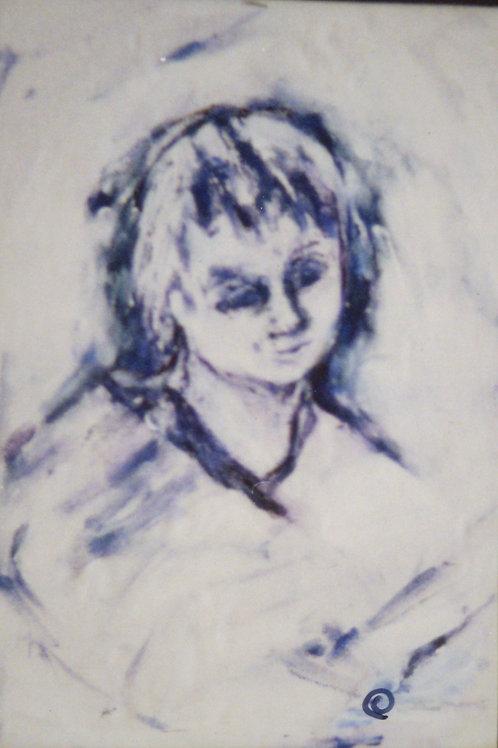 Jamie-  original - oil on canvas paper