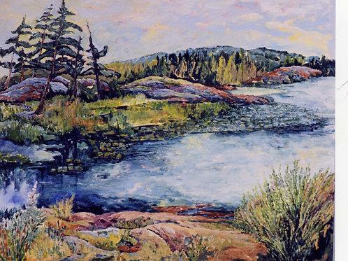 Original -Georgian Bay, Ontario Canada