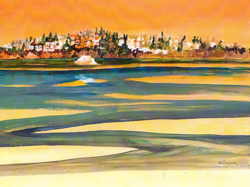 Reflections of White Rock #1-sold-prints only