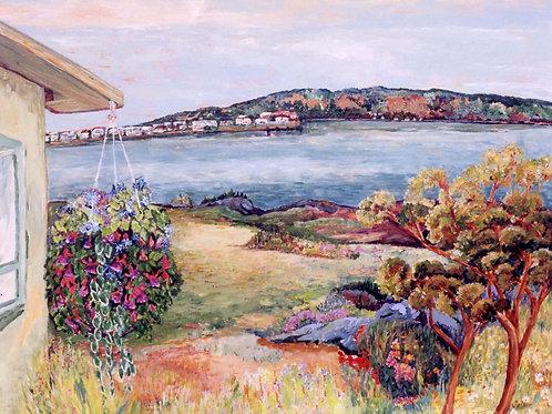 Original-Vancouver Island-Sidney from Bazan Bay