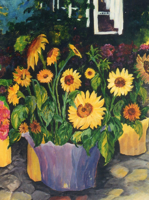 Sunflower Stand-SOLD - prints only available