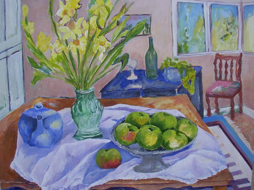 Original - Still Life with Daffodils