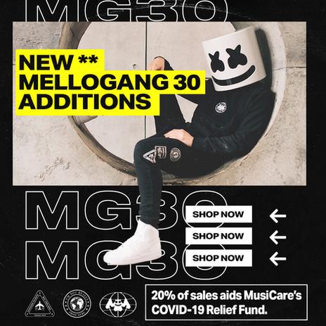 MARSHMELLO MG30 RELEASE